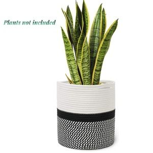 Other - Cotton Rope Plant Basket Potted Plant, Indoor